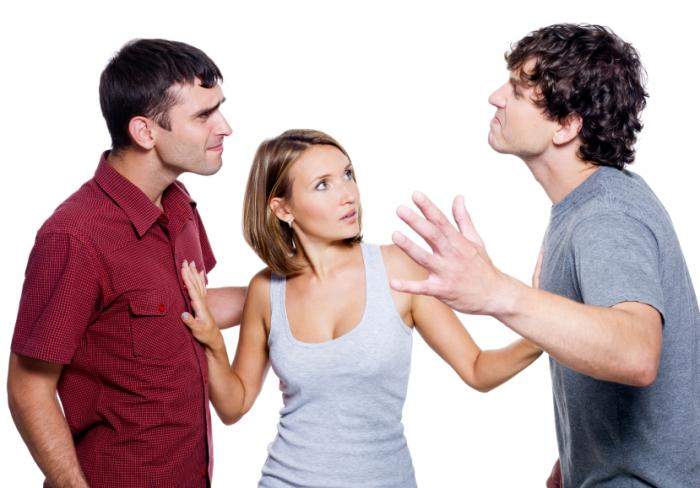 Image result for guys fighting over girl