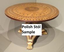 Polish Stól Sample