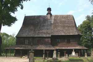 The church in Lipnica Murowana, where I found a forgotten ancestor's grave in 2007.