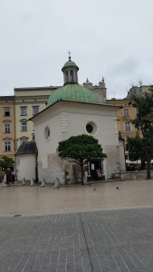 Saint Adalbert's Church--small but ancient.