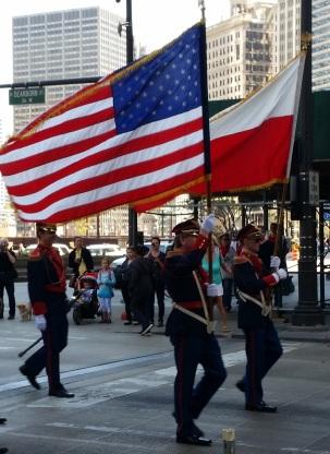 polish american march