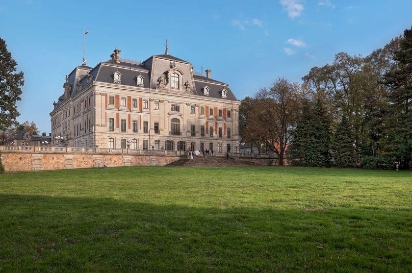 town-pszczyna castle