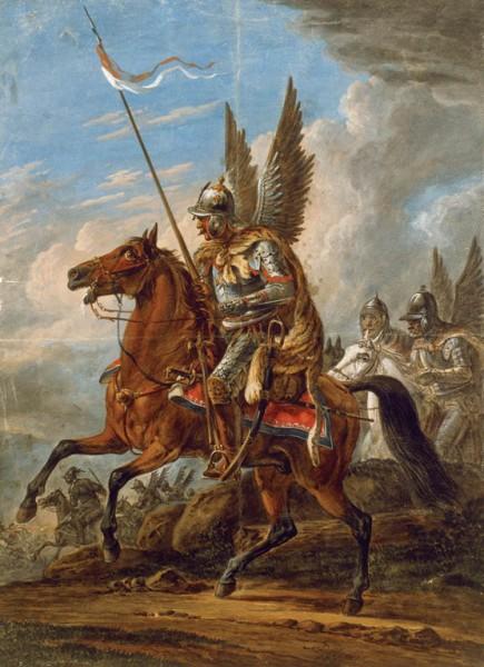 Orłowski_Husaria's_attack