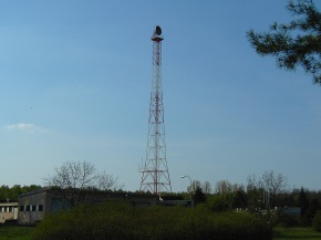 warsaw radio tower